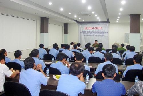 Lễ khai giảng khóa học tại Bắc Thăng Long