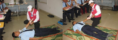 Tập huấn kĩ năng sơ cứu người gặp nạn