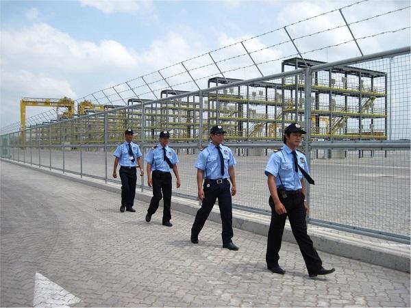 Tuần tra bảo vệ công trường