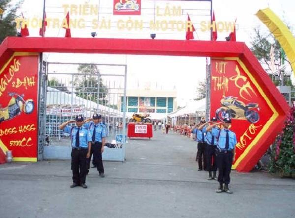 Đội ngũ bảo vệ sự kiện