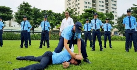 Tập huấn kĩ năng chiến đấu và võ thuật tại Bắc Thăng Long